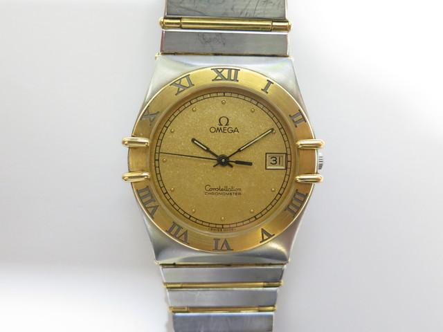 オメガ 時計 高価買取 コンステレーション コンビ ボーイズ
