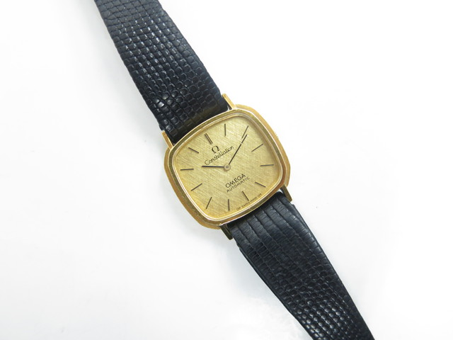 オメガ 買取 大阪・神戸 金の古いブランド時計買取