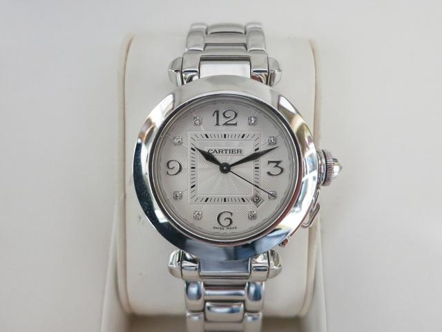 カルティエ パシャ32 WG 高価買取 時計 パシャ全サイズ強化買取