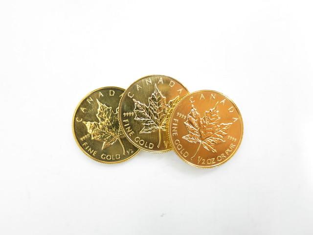 メープルリーフ金貨 高価買取 大阪・神戸 カナダ金貨買取