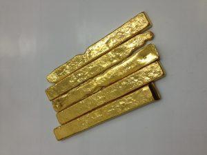 K24金・金棒状・金塊950g買取いたしました。