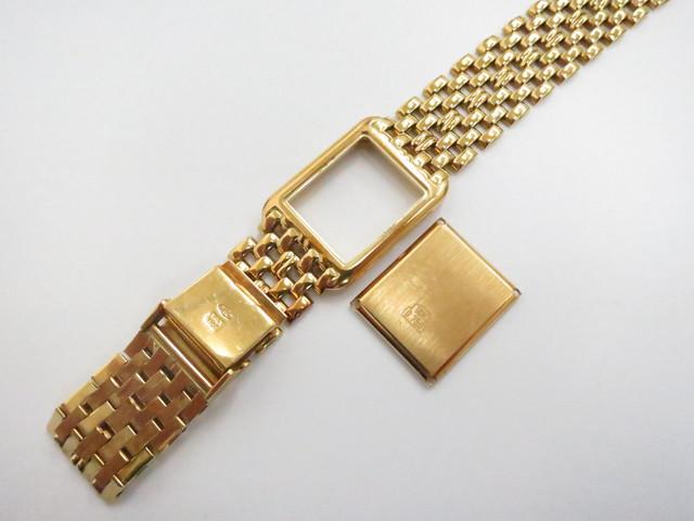 18金 高価買取 K18 750 ノーブランドの金無垢時計 高額査定
