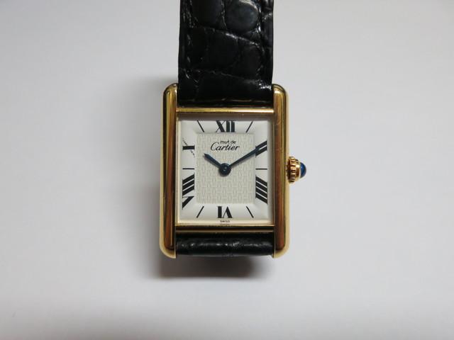 カルティエ マストタンクヴェルメイユ 高価買取 ヴィンテージ時計