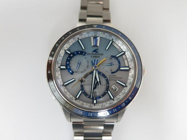 時計 買取 大阪 神戸 カシオ オシアナス GPSハイブリッド電波ソーラー