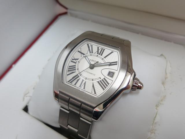 カルティエ 時計 買取 大阪 神戸 ロードスターS 腕時計 無料査定