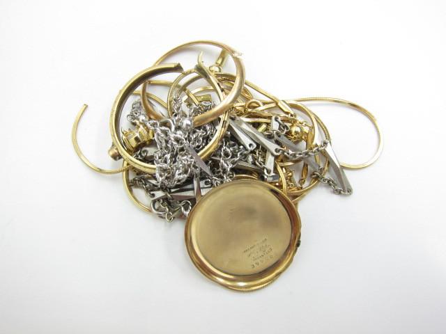 K18金&K14金時計ケースやネックレス総重量28.3g買取いたしました。