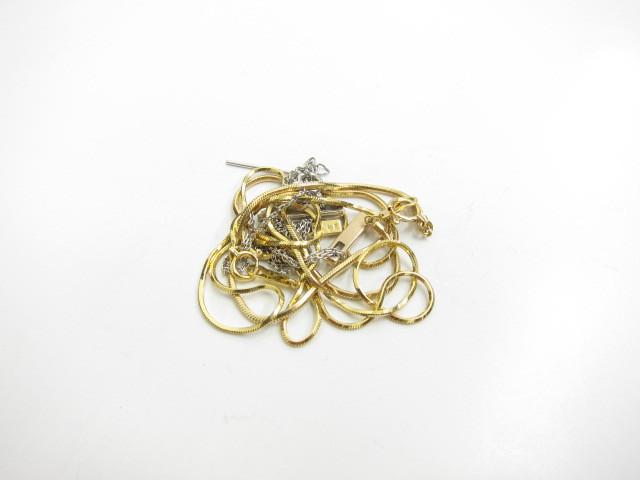 K18金K18金WGホワイトゴールドネックレス9.2g買取いたしました。