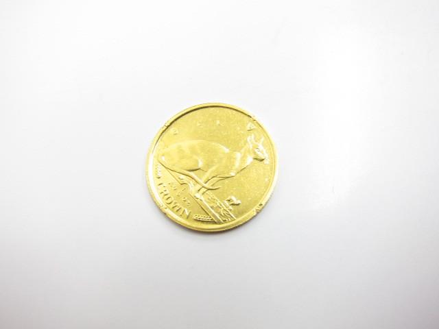 K24金インゴットマン島キャットエリザベスⅡ世金貨1/5オンス買取いたしました。