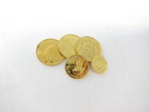 K24金パンダコイン金貨1/4オンス・1/10オンス・1/20オンス総重量27.6g買取いたしました。