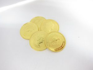 K24金エリザベスカンガルーインゴット金貨38.7g買取いたしました。