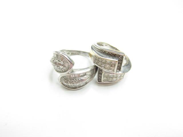 プラチナPt900ダイヤモンドファッションリングダイヤモンド総カラット2カラット16.5g買取いたしました。