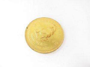 K22金クルーガーランドコイン金貨1オンス/1oz買取いたしました。