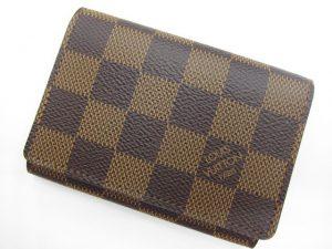 新品ルイ・ヴィトン ダミエ アンヴェロップ・カルトドゥヴィジット カード入れ N62920買取いたしました。