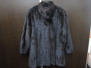 EMBAエンバミンク毛皮コート買取いたしました。