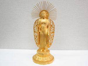 仏像 買取 大阪・神戸 K24純金仏具 骨董・美術品 高価買取