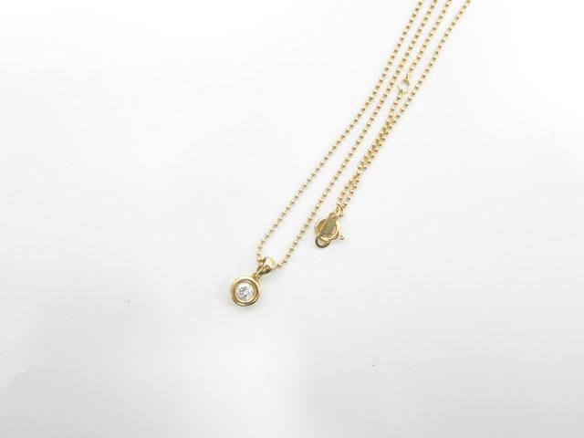 小さなダイヤモンド 買取 大阪・神戸 ダイヤ金ネックレス