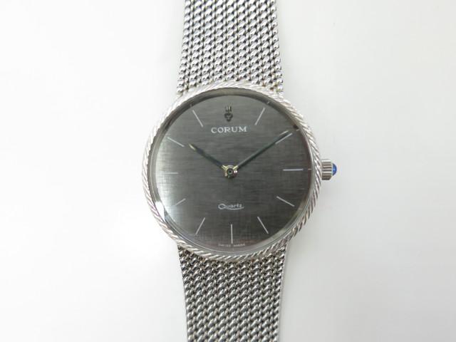 コルム 買取 大阪・神戸 K18 ブランド時計 高価買取