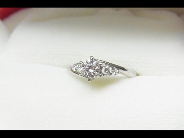 ダイヤモンド 0.35CT E/VS1/EX 買取させて頂きました。有難うございます。