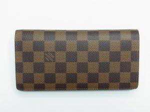 ヴィトン 財布買取させて頂きました。 ポルトフォイユブラザ ダミエ N60017