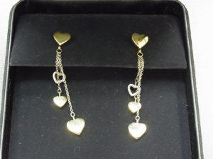 ティファニーハートドロップピアスK18買取させて頂きました。神戸・三宮/ジュエリー宝石買取りのブランドラボ