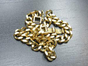 金買取させて頂きました。K18喜平ブレス 神戸・三宮/金プラチナ高価買取のブランドラボ