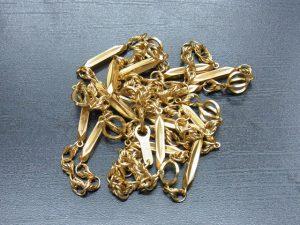 金買取させて頂きました。K18ネックレス 神戸・三宮の金高価買取ならブランドラボ