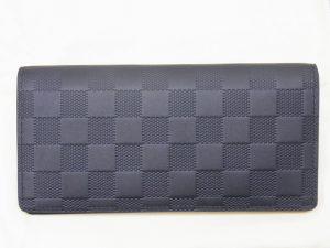 ヴィトン長財布 ダミエアンフィニブラザ買取させて頂きました。神戸・三宮ヴィトン買取ならブランドラボ