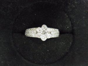 ヴァンクリダイヤリング買取させて頂きました。ヴァンクリーフ&アーペル・ブランドジュエリー強化買取の神戸・三宮ブランドラボ
