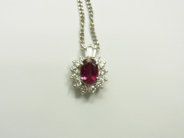 ルビーネックレス買取させて頂きました。宝石高価買取なら神戸・三宮のブランドラボ