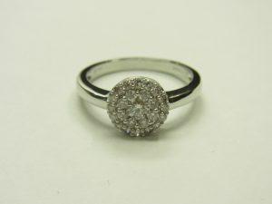 金買取させて頂きました。K18WGダイヤモンドジュエリー・高価買取ならブランドラボ