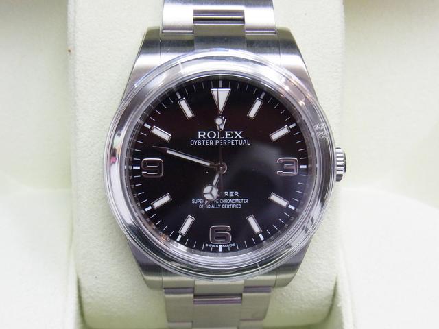 ロレックスエクスプローラ214270買取させていただきました。ロレックスの高価買取なら神戸・三宮のブランドラボ