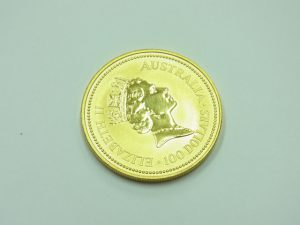 金買取させて頂きました。メイプルリーフ金貨K24・金の高価買取なら大阪、神戸のブランドラボ