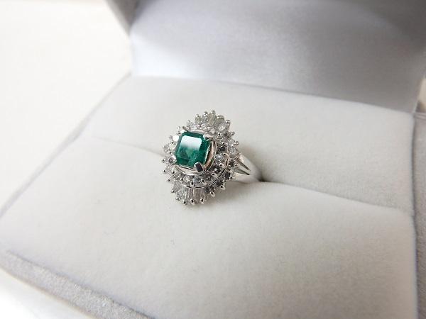 エメラルド買取大阪・神戸エメラルド・ダイヤモンドリング高価買取査定