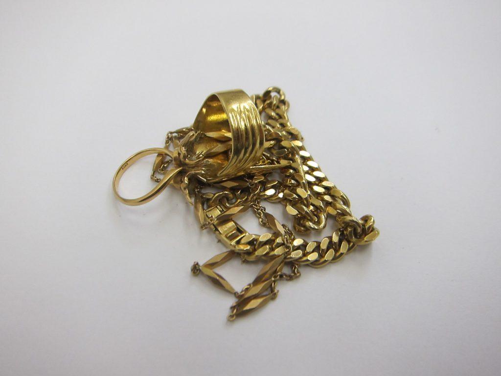 貴金属 高価買取 大阪 神戸 金 K18・指輪・ネックレス・ブレス買取