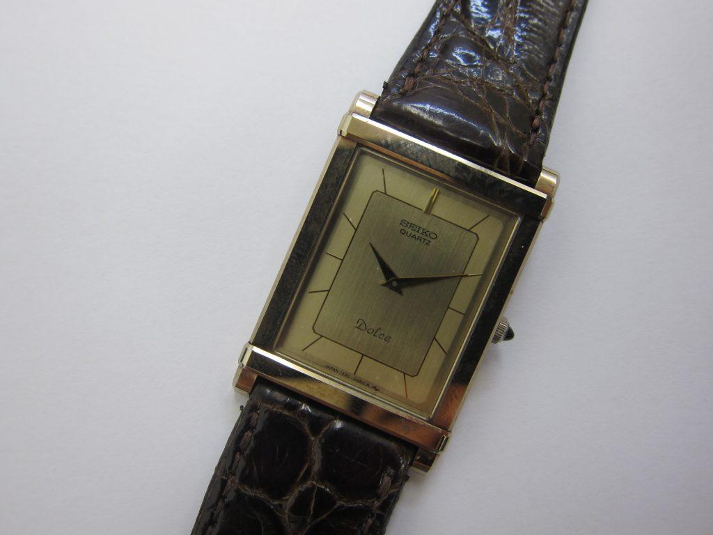 セイコー時計高価買取・ドルチェ・1220-5110大阪神戸買取