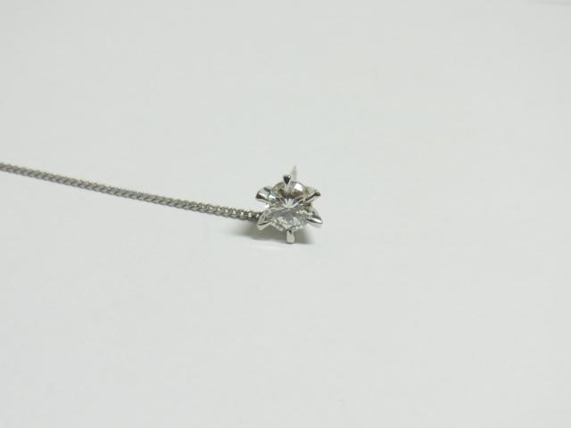 ダイヤモンド 買取 大阪 神戸 プラチナ900製タイピン 0.57ct 無料査定