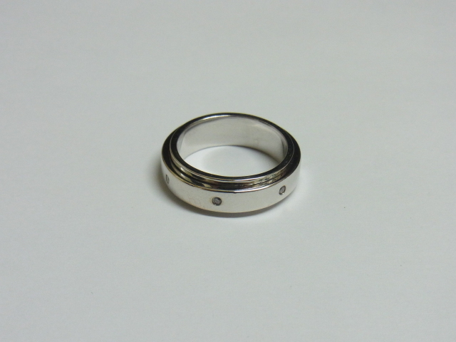 K18WG ホワイトゴールド リング 買取 大阪 神戸 金 プラチナ パラジウム