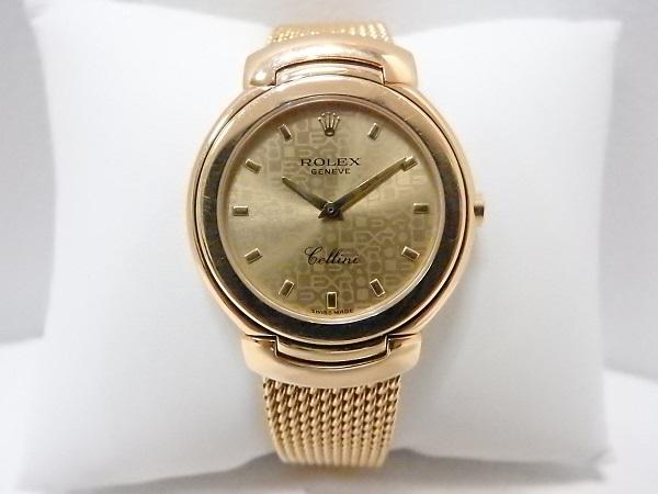 ロレックス買取大阪、神戸ロレックスチェリーニ6622 金無垢時計買取