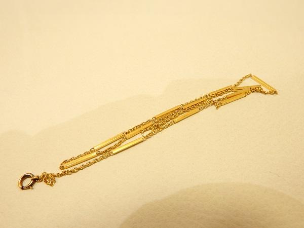 K18金ネックレス買取大阪、神戸断捨離していて見つけたネックレス買取