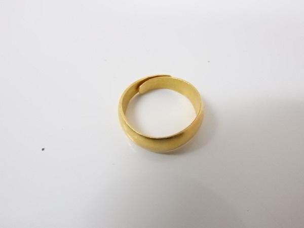 金買取大阪、神戸刻印が打たれていないリング買取査定K24金
