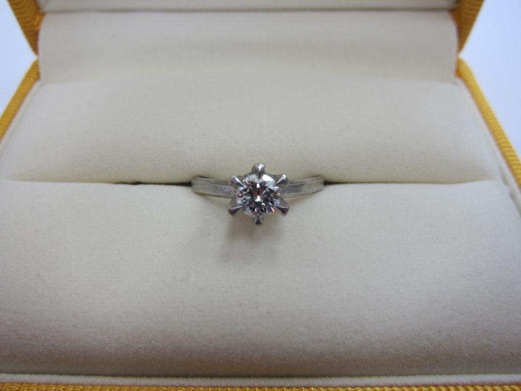 ダイヤモンド 買取 大阪 神戸 立て爪ダイヤリング 高額査定