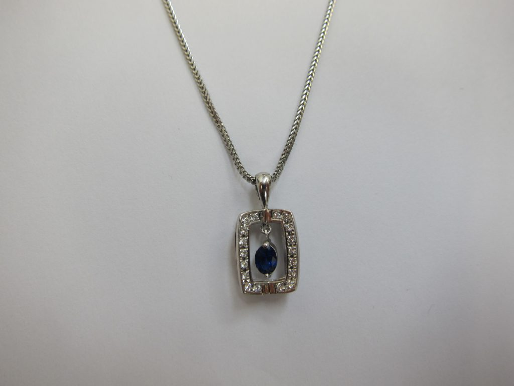 サファイアダイヤモンドネックレス高価買取・大阪神戸