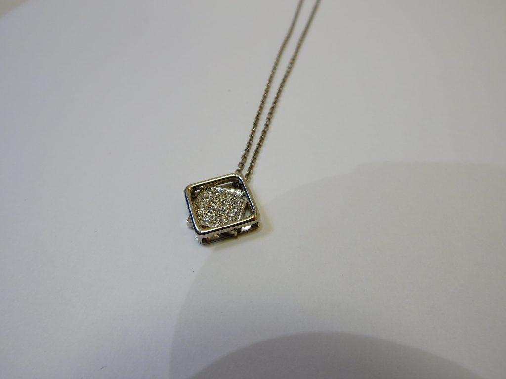 ダイヤモンドネックレス・プラチナ高価買取・大阪神戸