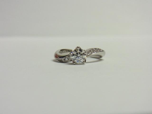 ダイヤモンド 買取 大阪 神戸 0.5ct エンゲージリング 婚約指輪 高額査定