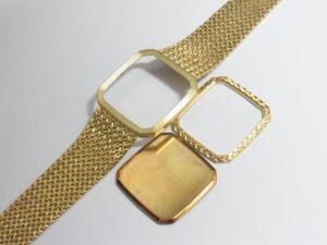金 買取 大阪 神戸 K18 金無垢時計のガワ 高額査定 18金 貴金属 無料査定