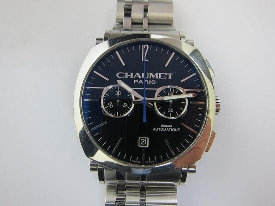 ショーメ 時計 買取 大阪 神戸 ダンディ クロノ XL W11690-30A 高額査定