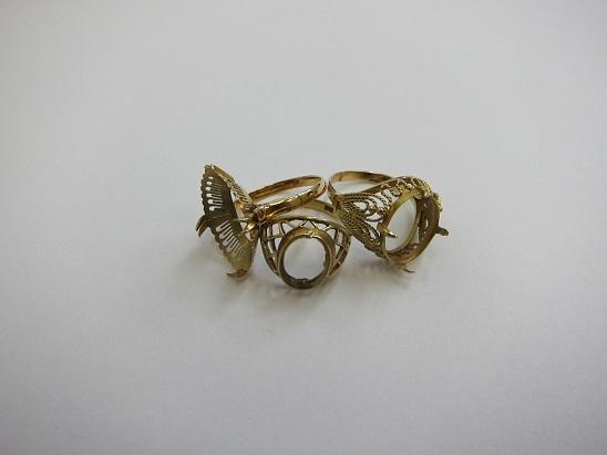 金 買取 神戸 大阪 K18 石を外した指輪 18金 リング 貴金属 無料査定