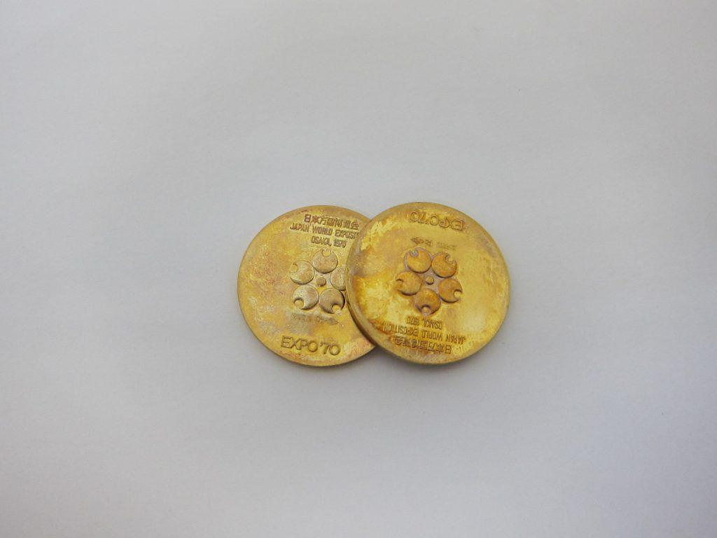 EXPO70 k18金記念コイン買取 大阪 神戸 高価買取