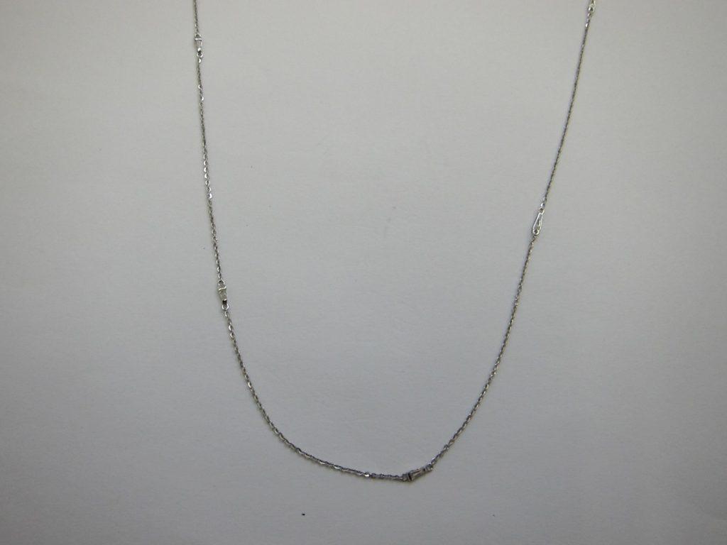 k18WG メレダイヤモンドネックレス 高価買取 大阪 神戸