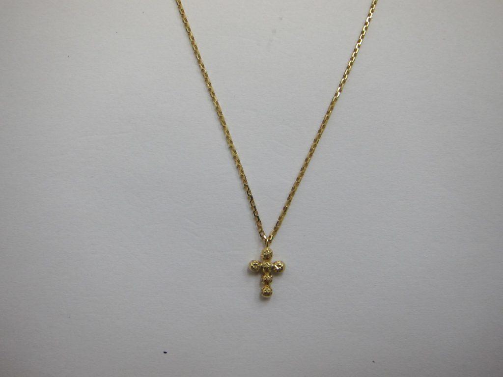 K18金クロスネックレス 貴金属 高価買取 大阪 神戸